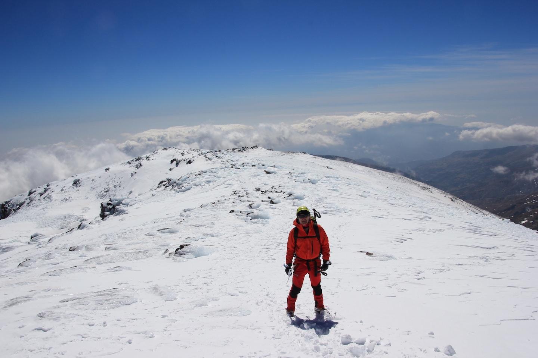 descenso del Mulhacen