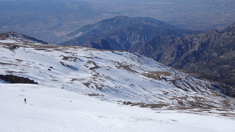 Descenso Cerro del Caballo