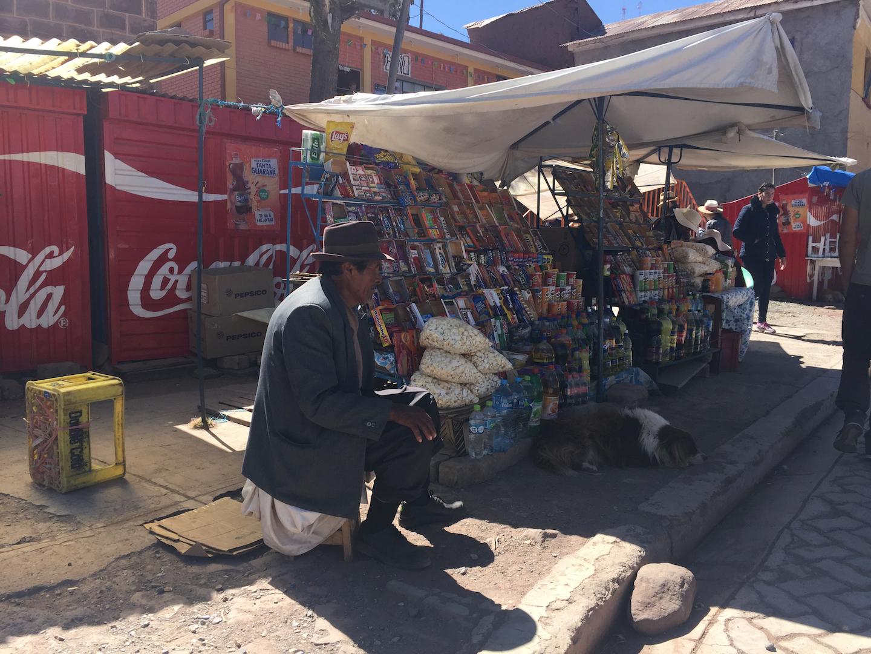 lago titicaca tienda