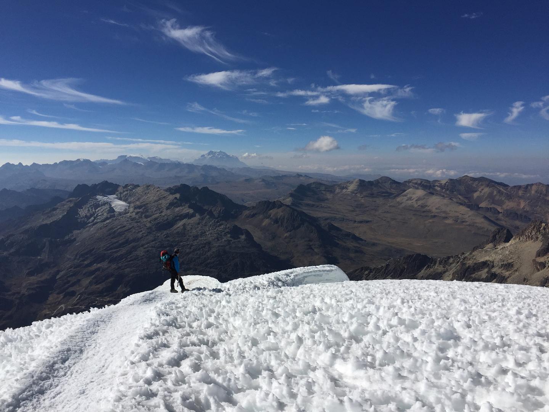 Illimani desde el Huayna potosi